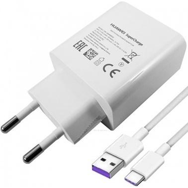 Huawei Huawei Super Charge Hızlı Şarj Cihazı + Usb Type-C Kablo Renkli